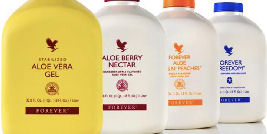 Aloe Vera Gel, Berry Nectar, Forever Freedom, Bits N' Peaches in